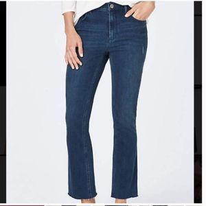 NWT j Jill kick-flair jeans 10 petite Ankle